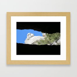 A Glimpse Framed Art Print
