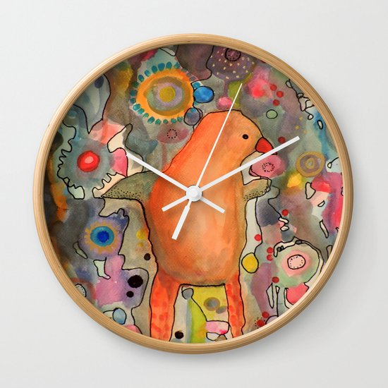 primerose Wall Clock