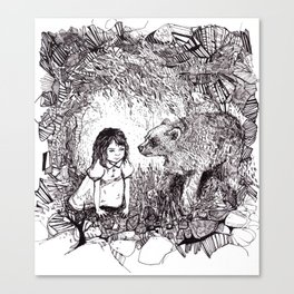 My Brother's a Bear Canvas Print