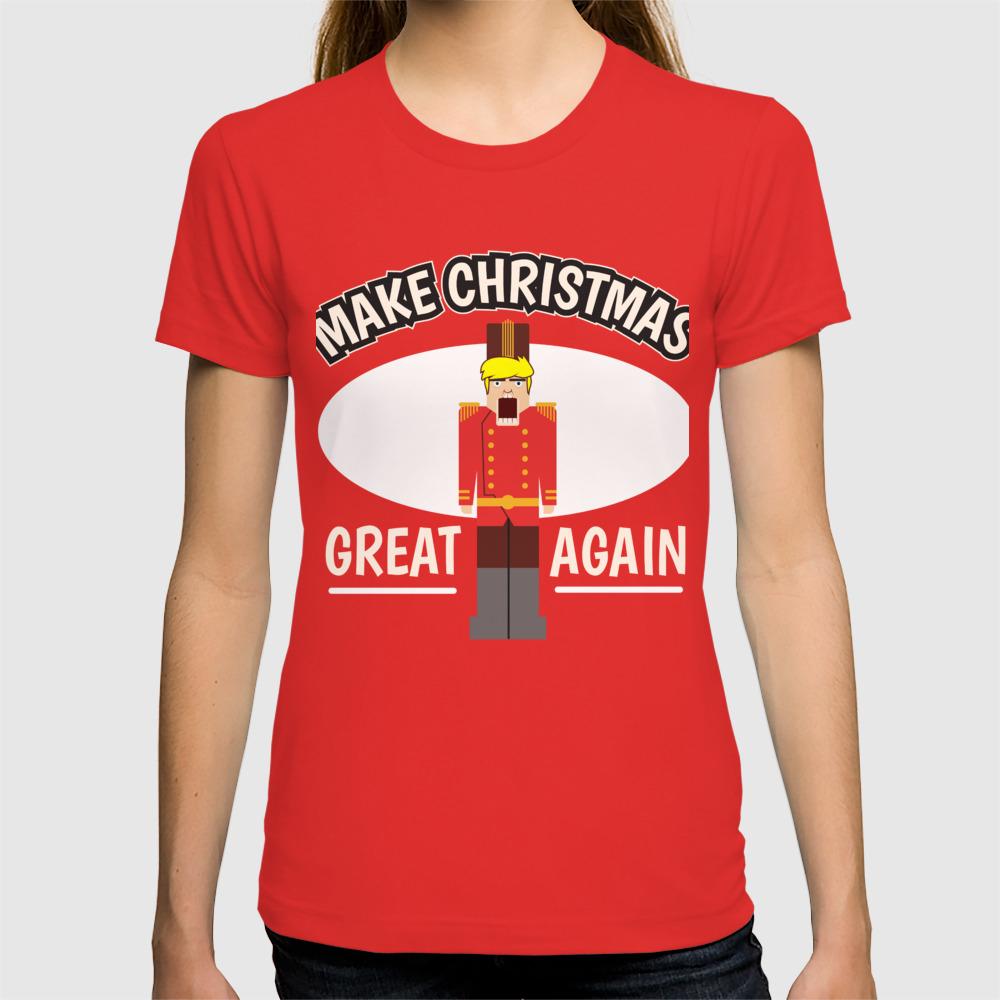 Christmas Trump Shirt.Christmas Anti Trump Nutcracker Funny Gift T Shirt