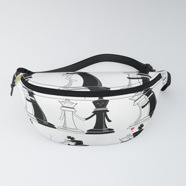 Chess love #3 Fanny Pack