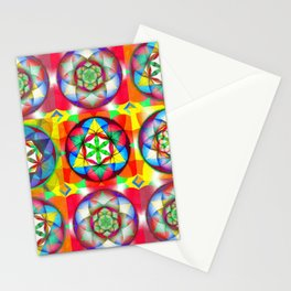 Three Six Nine - The Sacred Geometry Collection Stationery Cards