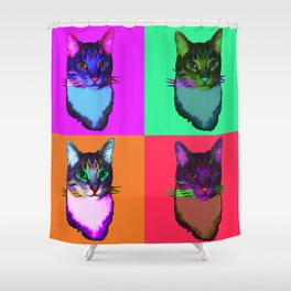 Cat Copy #42 Shower Curtain