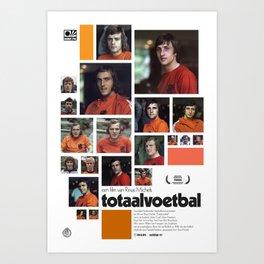 Totaalvoetbal Art Print
