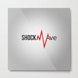 Shockwave Logo Metal Print