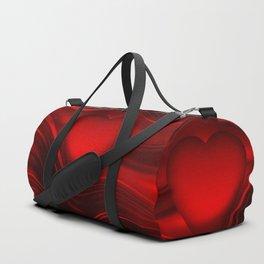 Red heart 16 Duffle Bag
