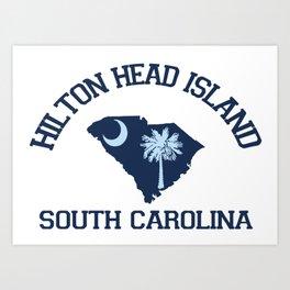 Hilton Head Island - South Carolina. Art Print