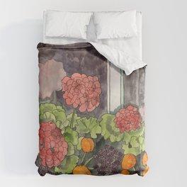 The Window Box Duvet Cover