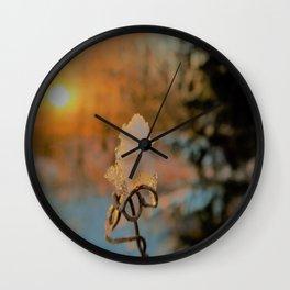 natures diamonds Wall Clock