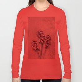Delicate Hyacinths Long Sleeve T-shirt