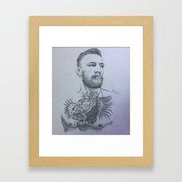 Conor McGregor Framed Art Print