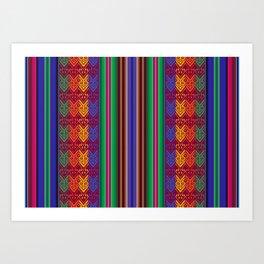 Peruvian Folkart Art Print