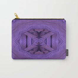Leather in vintage style. Carry-All Pouch