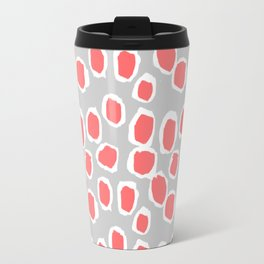 Zola - Abstract painted dots, painterly, bold pattern, surface pattern, print pattern design Travel Mug