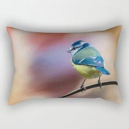 Blue Tit UK Rectangular Pillow