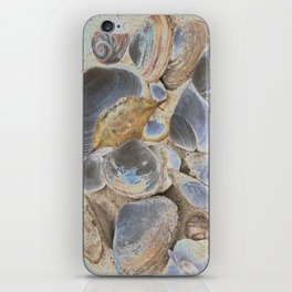 Seashell Abstract iPhone Skin