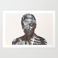 Sir Bill Clinton Art Print