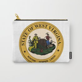 West Virginia State Seal Carry-All Pouch