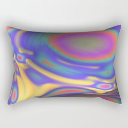 In My Fractal Skin Rectangular Pillow