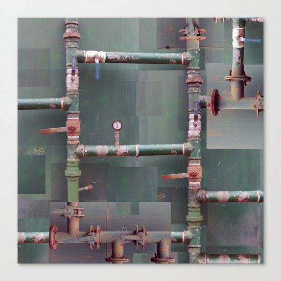 Industrial veins Canvas Print