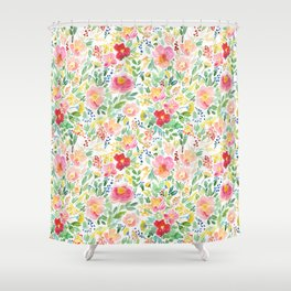Ditsy Meadow Shower Curtain