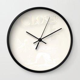 Closer Inspired Wall Clock