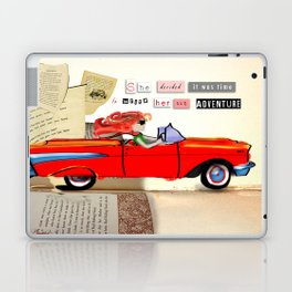 Red Riding Hood Hits the Road Laptop & iPad Skin