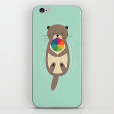 Sweet Otter iPhone & iPod Skin