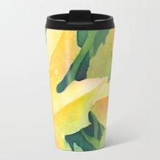 Bright leaf study Travel Mug