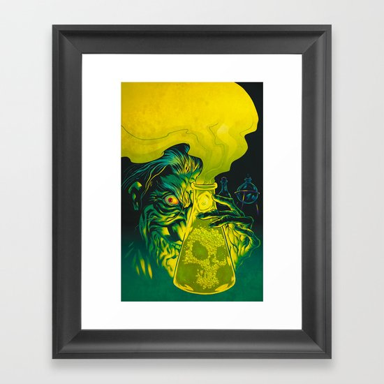 MAD SCIENCE! Framed Art Print