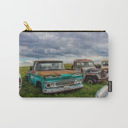 Rusty Car Row Carry-All Pouch