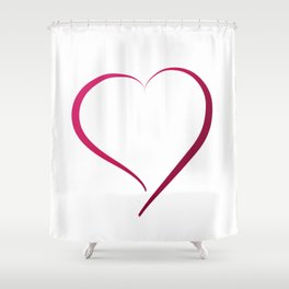 Heart in Style by LH Shower Curtain