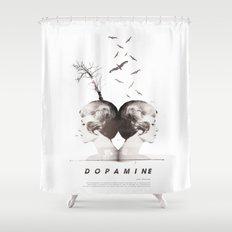 Dopamine | Collage Shower Curtain