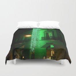 Green Cascade Duvet Cover