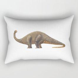 Dinosaur Apatosaurus or Brachiosaurus Rectangular Pillow