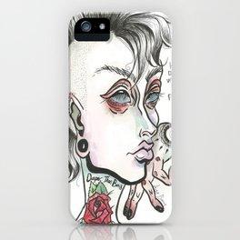 Justine iPhone Case