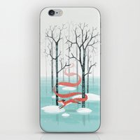 freeminds iPhone & iPod Skins featuring Forest Spirit by Freeminds