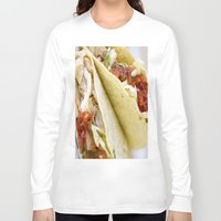 taco Long Sleeve T-shirts featuring Taco  by Spotted Heart
