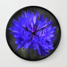 Cornflower Wall Clock
