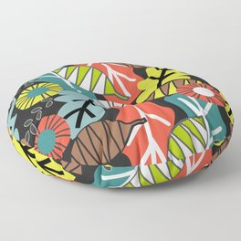 They fall in autumn Floor Pillow