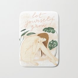 Let yourself grow Bath Mat
