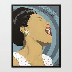Billie Holiday Canvas Print