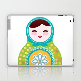 babushka doll matryoshka Laptop & iPad Skin