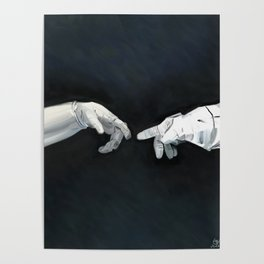 Cosmic Touch Poster
