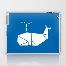 White Whale Laptop & iPad Skin