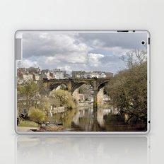 The Viaduct at Knaresborough Laptop & iPad Skin
