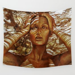 Camouflage Wall Tapestry