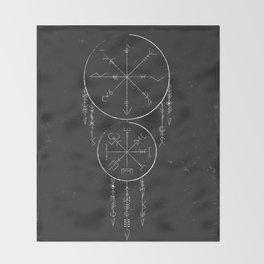 Whisper Of Runes Throw Blanket