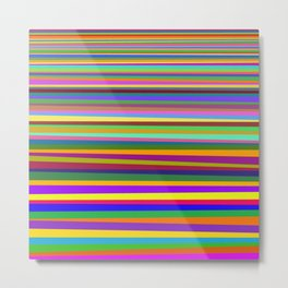 Clash of colors Metal Print