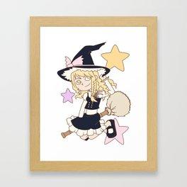 Master Spark Framed Art Print